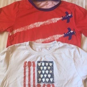 Other - Two boys size 8 Fourth of July themed T-shirt's